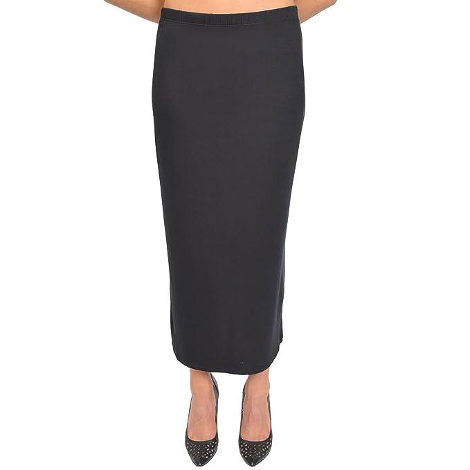 c1d418b261 Long Black Tube Skirt | Skirt Direct