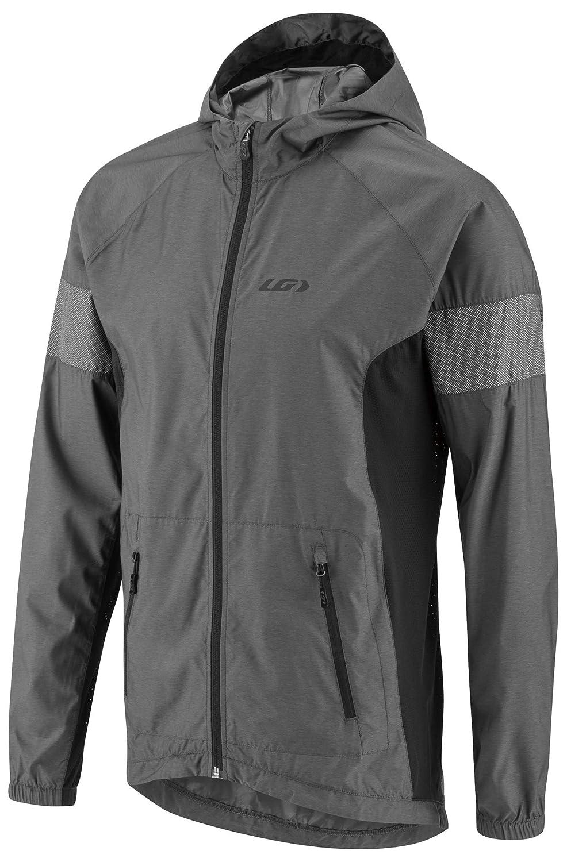 Louis Garneau Men's Modesto Bike Hoodie Jacket, Black/Gray, Large 141[並行輸入]   B079N782CT