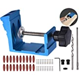 Pocket Hole Jig Kit Dowel Drill Joinery Screw Kit Carpenters Wood Woodwork Guides Joint Angle Tool Carpentry Locator