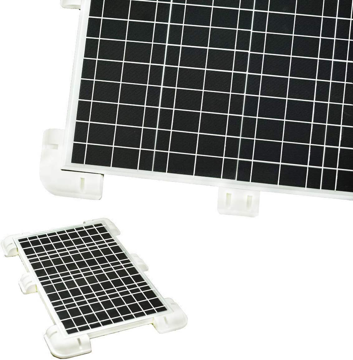 Caravans Marine Boats Solar Panel Roof Drill-Free Corner Bracket Mount RV Mo