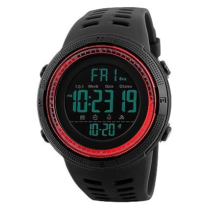 Amazon.com: Reloj de pulsera para hombre con cronógrafo de ...