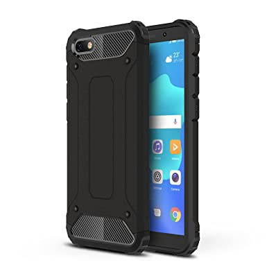sports shoes 13452 88084 XINKO Huawei Honor 7S Case, [Dual Layer] Hybrid Armor Case 2 in 1  Shockproof Tough Rugged Dual-Layer Case Cover for Huawei Honor 7S - Black