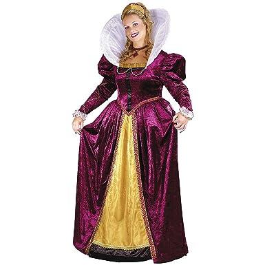 Amazon.com: Adult Plus Size Queen Elizabeth Costume-Sizes 16-24 ...