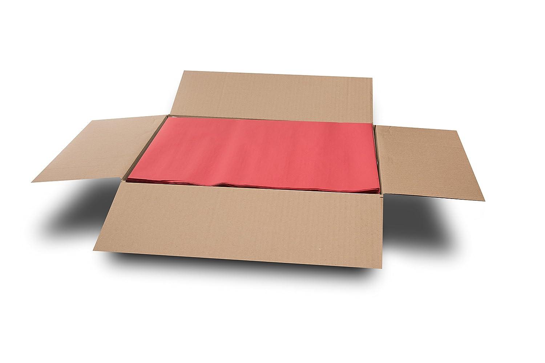 Gofrado Set de 800 30 x 40 Cm Rojo 44 Gramos Saten Mantel Individual