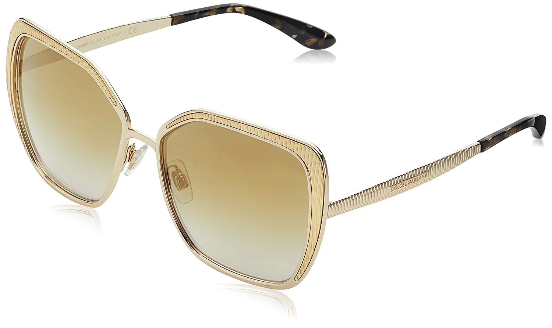 a6afa5d102 Amazon.com: Sunglasses Dolce & Gabbana DG 2197 02/6E GOLD: Clothing
