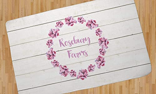 RNK Shops Farm House Area Rug – 4 x5 Personalized
