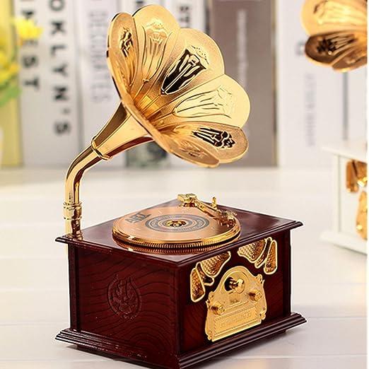 A menudo Musical cajas unbespielt Tocadiscos Mini Classic regalos ...