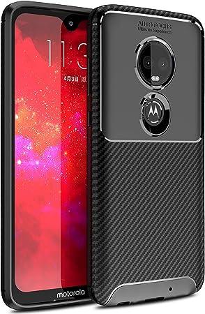 Yocktec Funda para Motorola Moto G7, diseño Ultra Delgado de Fibra ...