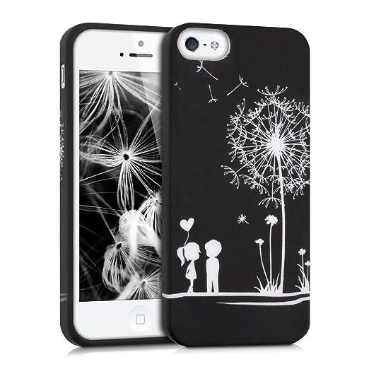167 opinioni per kwmobile Cover per Apple iPhone SE / 5 / 5S- Custodia in silicone TPU- Back case