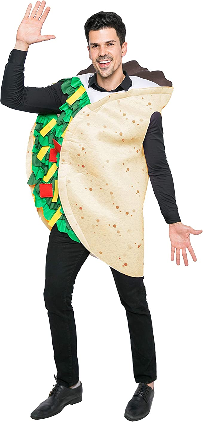 Amazon.com: Taco - Disfraz de adulto para Halloween: Clothing