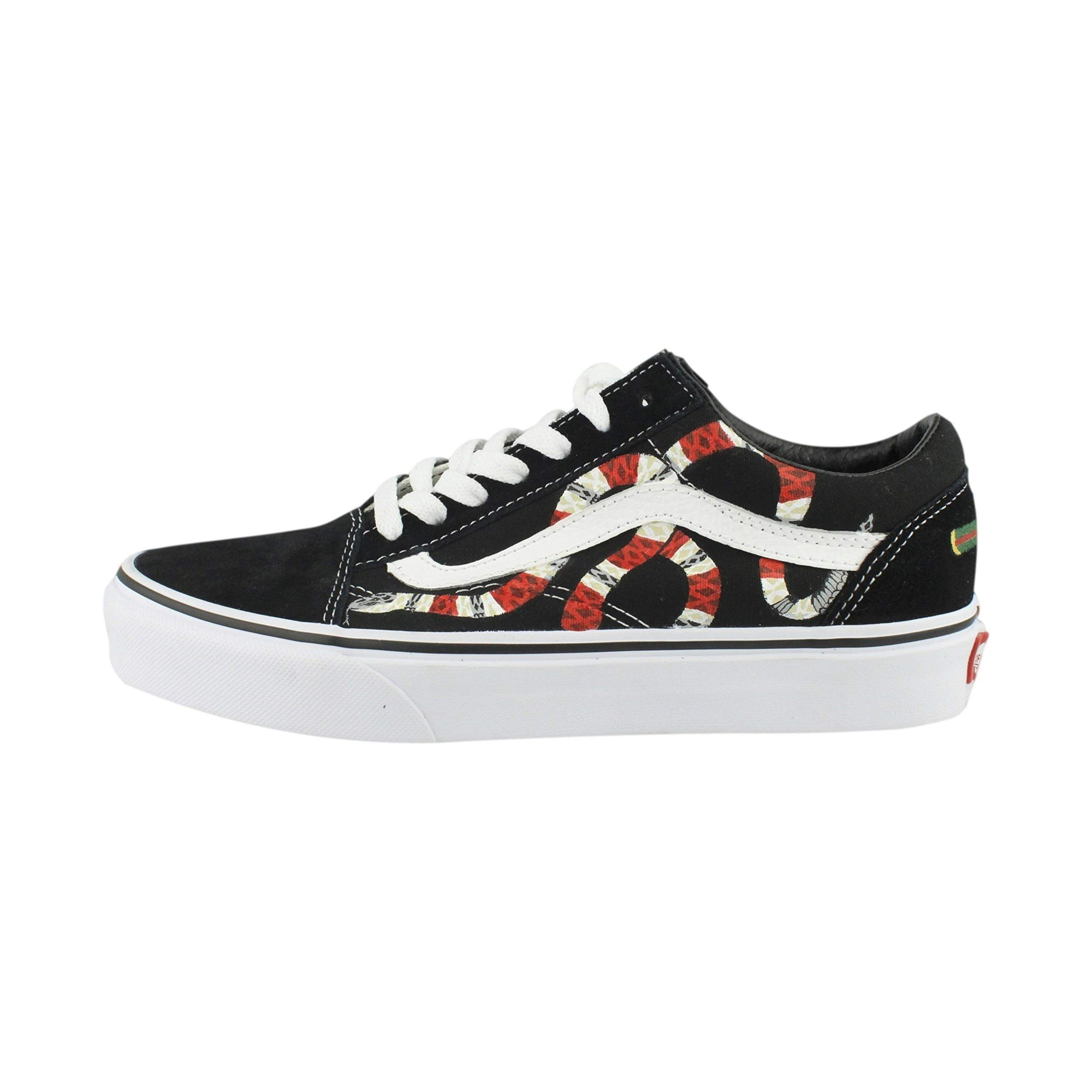 Hand Painted Gucci Snake Vans- Buy