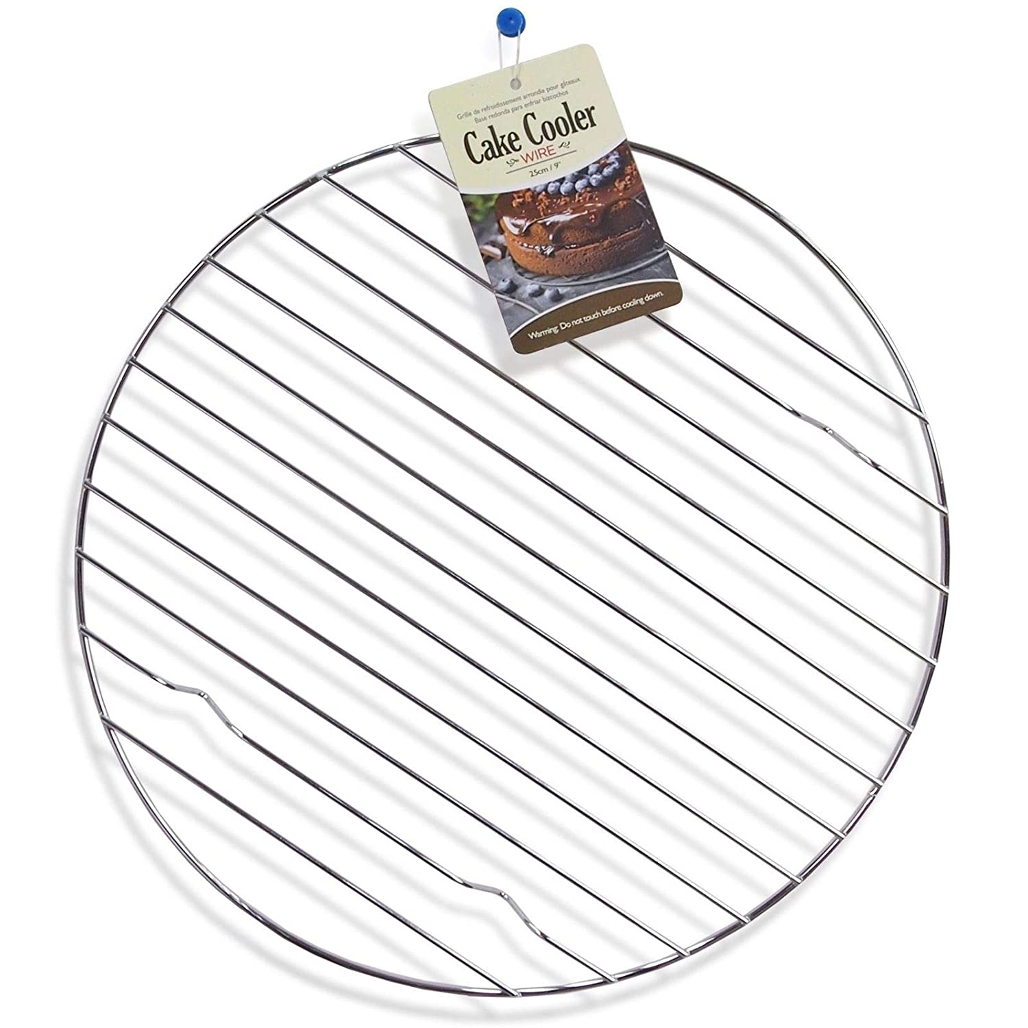 25cm Strong Metal Wire Round Cake Cooler Wire Baking Catering Cupcake Stand