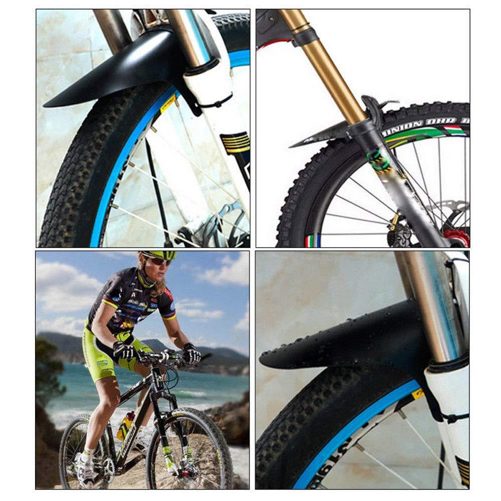 1 Pair Front Rear Mountain Road Bicycle Bike Fender Mudguard Mud Guard Set