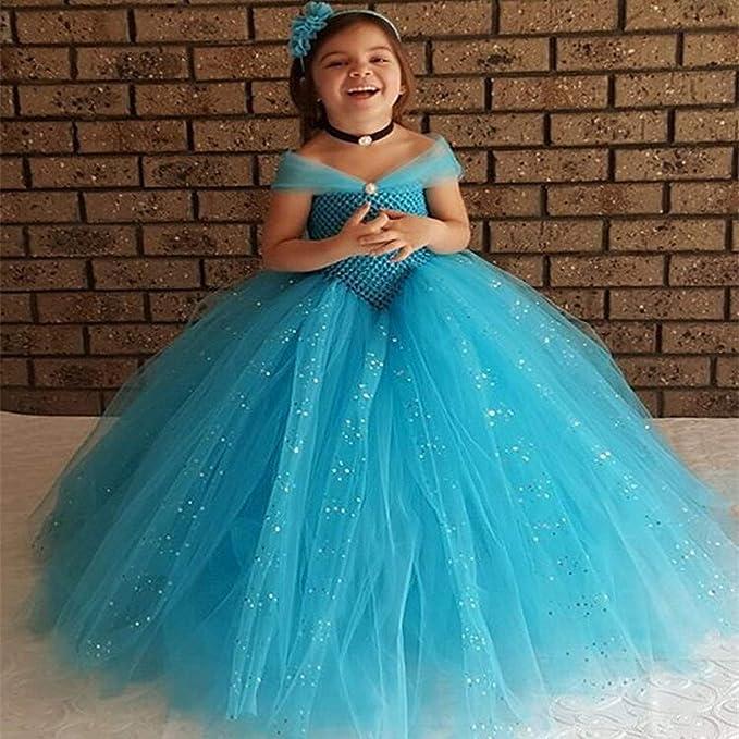 Amazon.com: VIETER - Disfraz de princesa Elsa Anna de Frozen ...