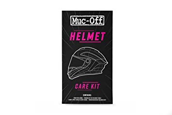 Muc-Off 615 Casco Kit de Cuidado: Amazon.es: Coche y moto