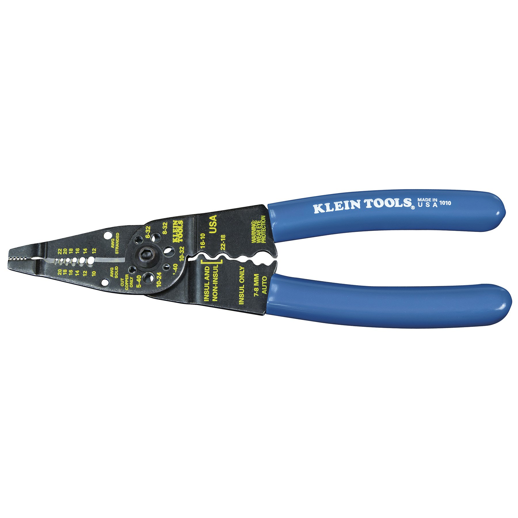 Long Nose Multi Tool Set is a Wire Cutter, Bolt Cutter, Wire Crimper and Stripper 8-Inch Long Klein Tools 1010