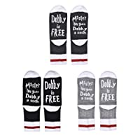 Jiayiqi Unisex Socks Casual Cotton Crew Socks Funny Socks 1Pack/2Pack/3Pack