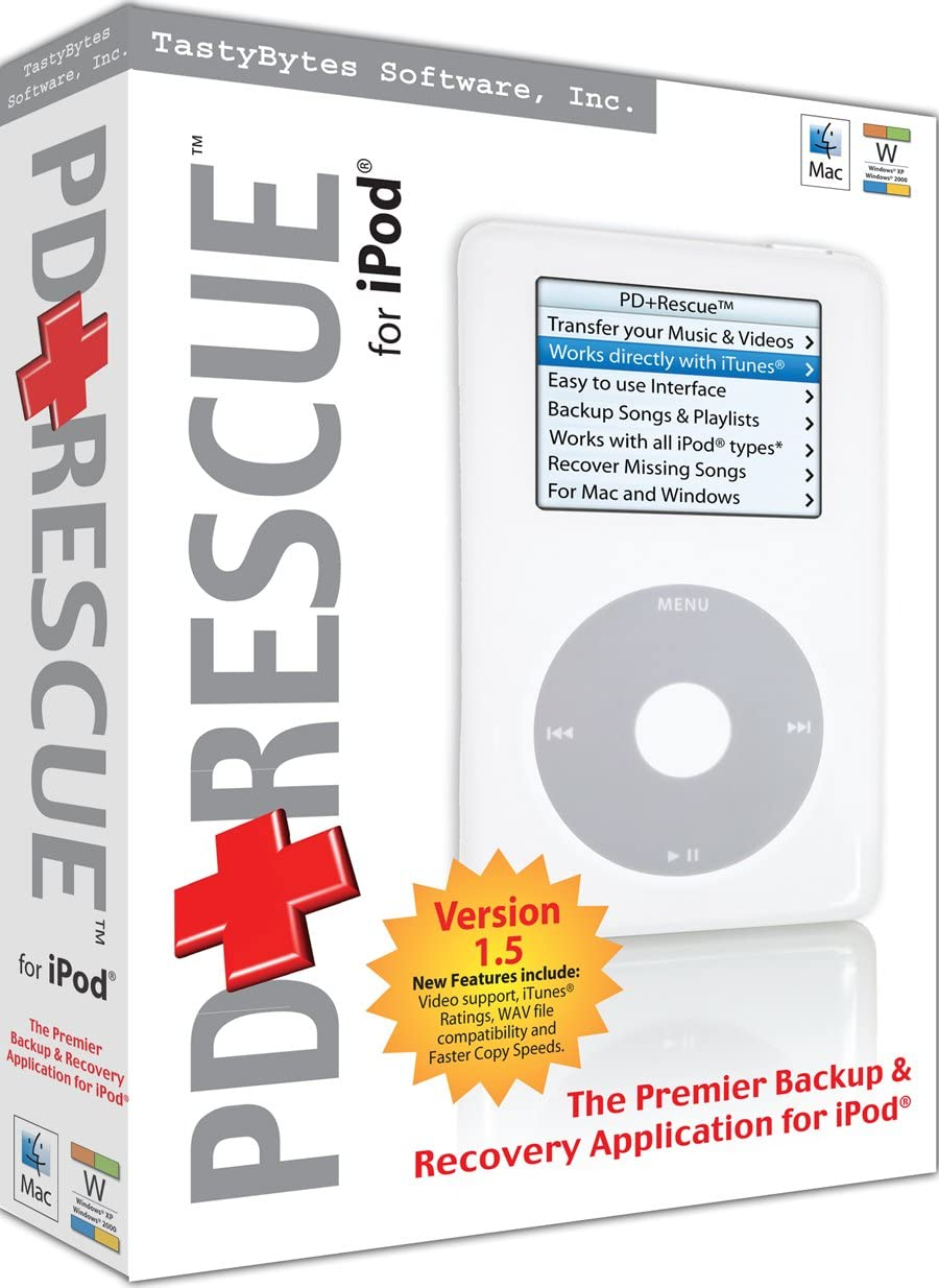 Amazon Com Pd Rescue For Ipod Win Mac