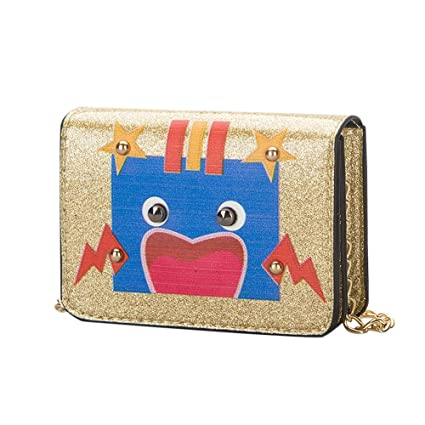 4a959af94 Amazon.com: Crossbody Bags, Dream Room Children Baby Girls Boys Kids Cute  Robot Shoulder Bag Handbags Mini Packet (Gold): Dream Room - Black Friday &  Cyber ...