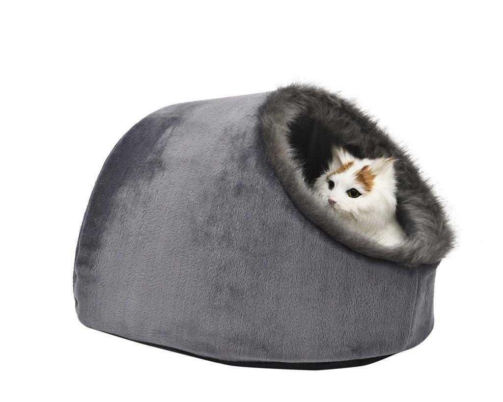 VERTAST Gatto Cane piccolo Lettini e divanetti accogliente Animali Igloo Lettini Hideout Cave, Cuscino lavabile
