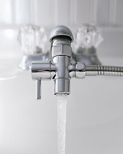 amazon com zen bidet chrome sink valve diverter faucet to hose rh amazon com kitchen tap splitter
