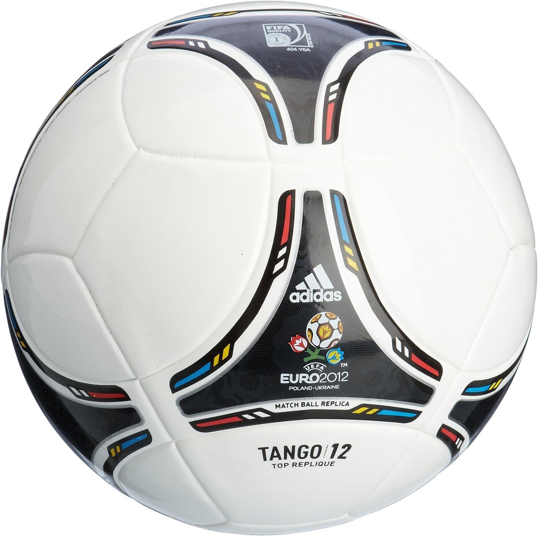 adidas X18256 TANGO 12 Top - Balón de fútbol blanco white/black ...