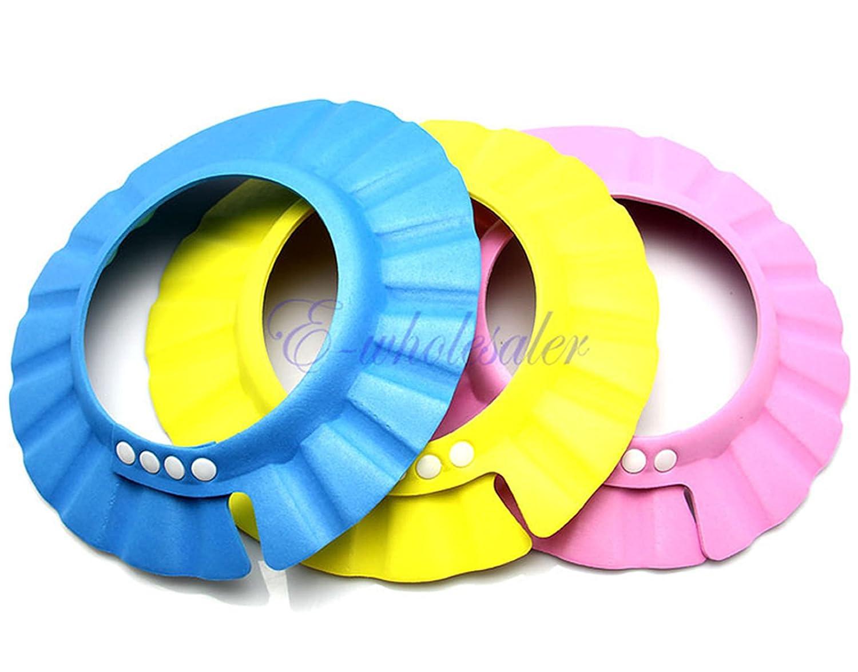 orro Sombrero Visera de Bano Ducha para Ninos Bebes Ajustable Suave Impermeable Protector de Ojos: Amazon.es: Bricolaje y herramientas