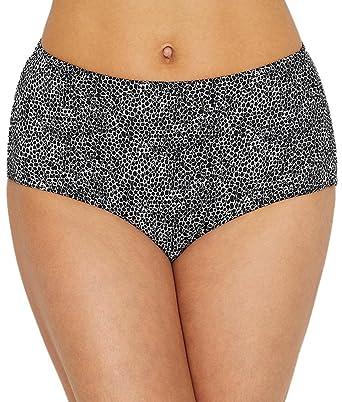 234b26bc10 Freya Women s Run Wild Retro High Waist Bikini Brief Bottoms  Amazon.co.uk   Clothing