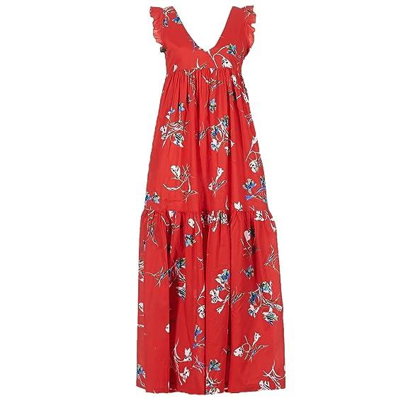 Pepe Jeans Kleid Pl952127 Manuelas Frauen Rot M Rot Amazon De