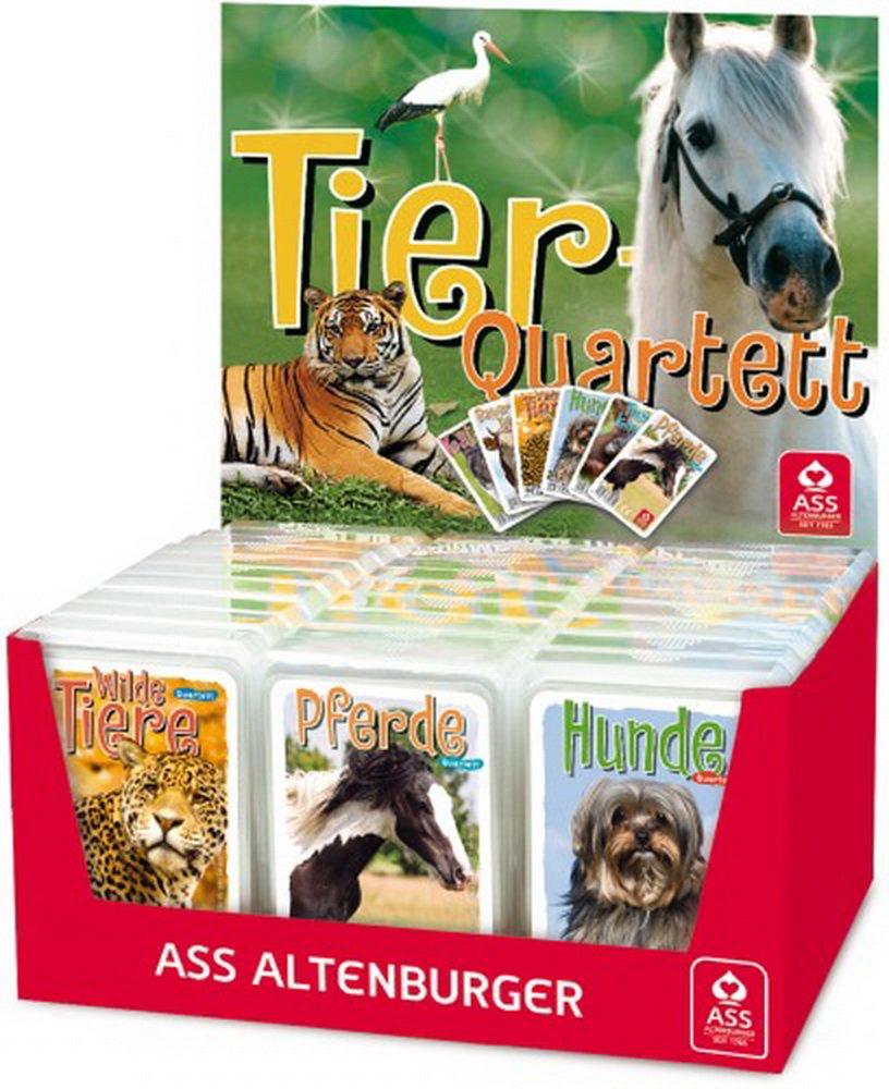 Quartett Tiere Land+Kinder im Display mit 30St.