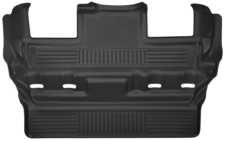53191 Husky Liners 15 Cadillac Escalade//Chevy Tahoe//GMC Yukon X-Act Contour Black 3rd Row Floor Liners
