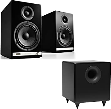 Pair Audioengine HD6 Premium Powered Wireless Bookshelf Speakers