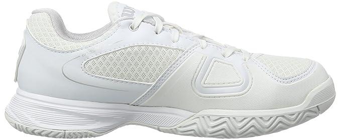 Wilson RUSH 2 W WHITE//STEEL GREY//WHITE 9 WRS317750E090 Damen Tennisschuhe