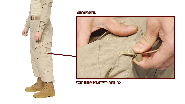 TRU Pants Desert Digital Camo Tru-Spec 1293 Tactical Response Uniform