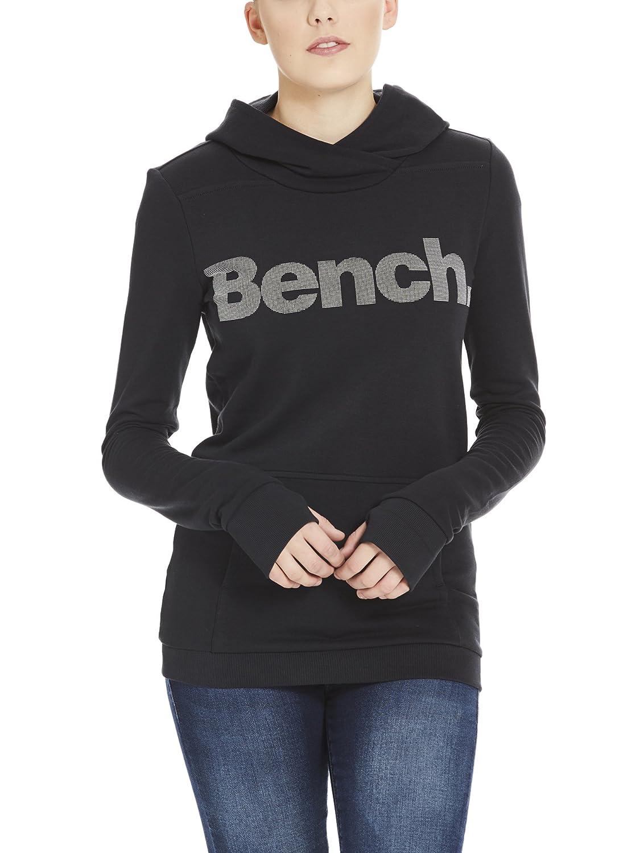 TALLA S. Bench Corp Print Hoody Sudadera para Mujer