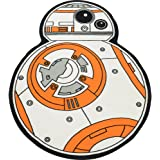 "Robe Factory Star Wars White BB-8 Cut Out Rug 52.5"" x 39"""