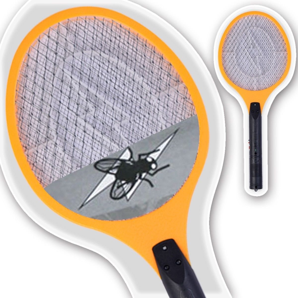 Electric Swatter Racket Mosquito Rechargeable Image 3