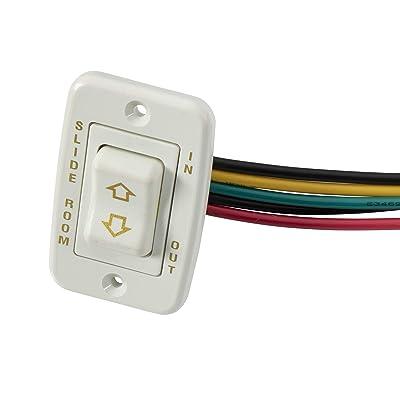 Lippert 117461 Slide-Out Switch Assembly, White: Automotive