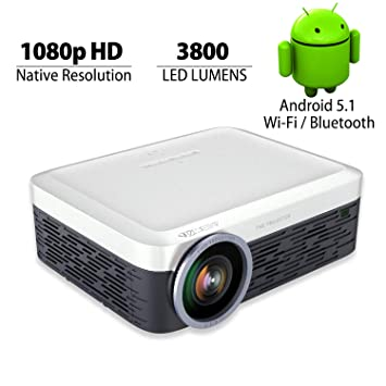 LED proyector Mini portátil Multimedia 1000 Lúmenes Full HD ...