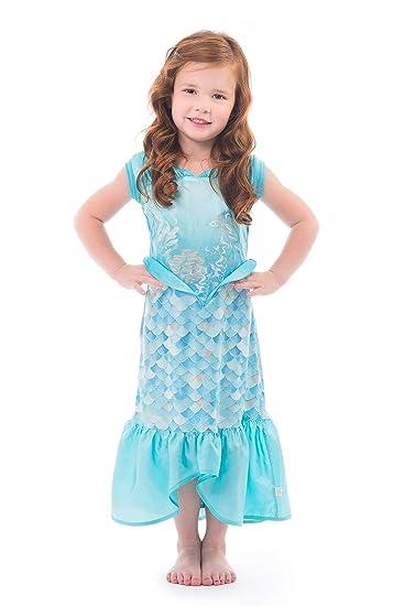 4ae84c4b0281 Amazon.com: Little Adventures Mermaid Dress Up Costume for Girls: Clothing