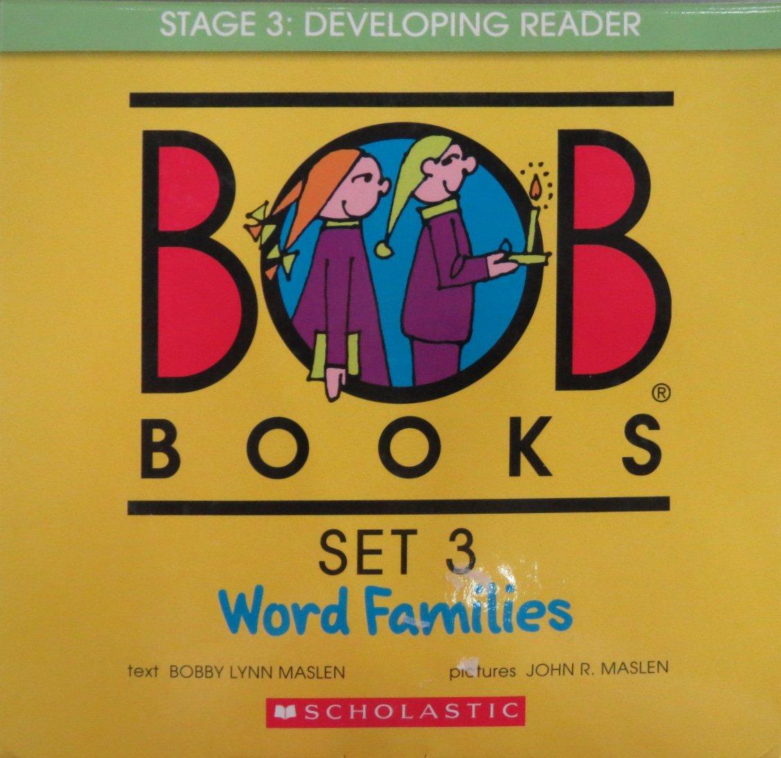 BOB books classroom set 3 word family families