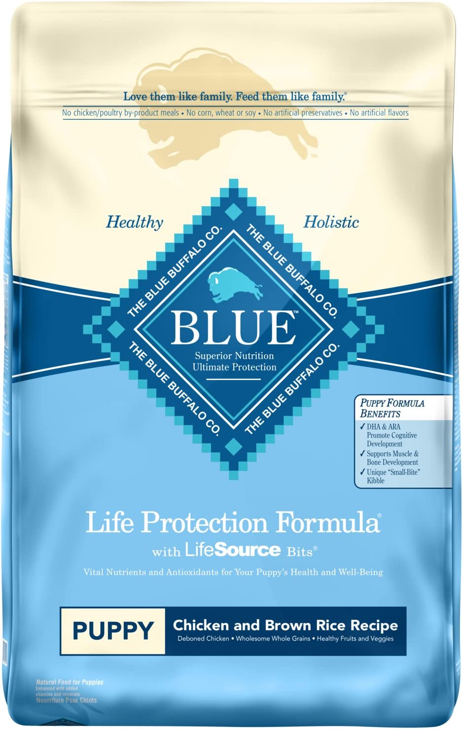 Blue Buffalo Lamb and Oatmeal Puppy Food