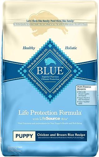 Blue Buffalo Life Protection Formula Puppy Dog Food Natural Dry Dog Food