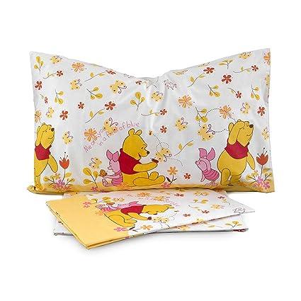 Lenzuola Winnie The Pooh.Completo Lenzuola Winnie The Pooh Happy Disney Caleffi Singolo Una