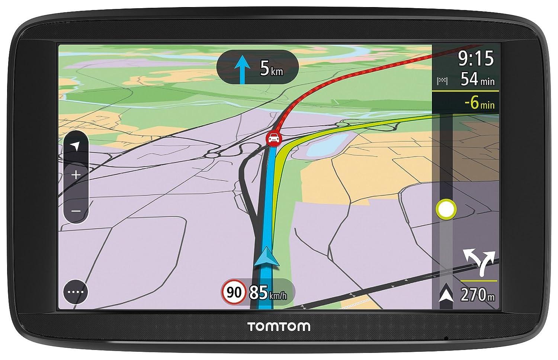 """TomTom Via 52 Europa 48 GPS per Auto, Display da 5"""", Mappe a Vita, Chiamate in Vivavoce, Nero/Antracite Display da 5"""" 1AP5.002.01"""
