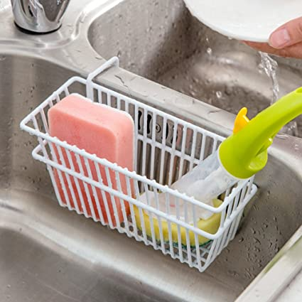 Amazon.com: Sponge Holder, Kitchen Sink Sponge Holder, Sink Sponge ...