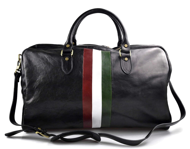 Italian Flag Weekender//Overnighter Bag