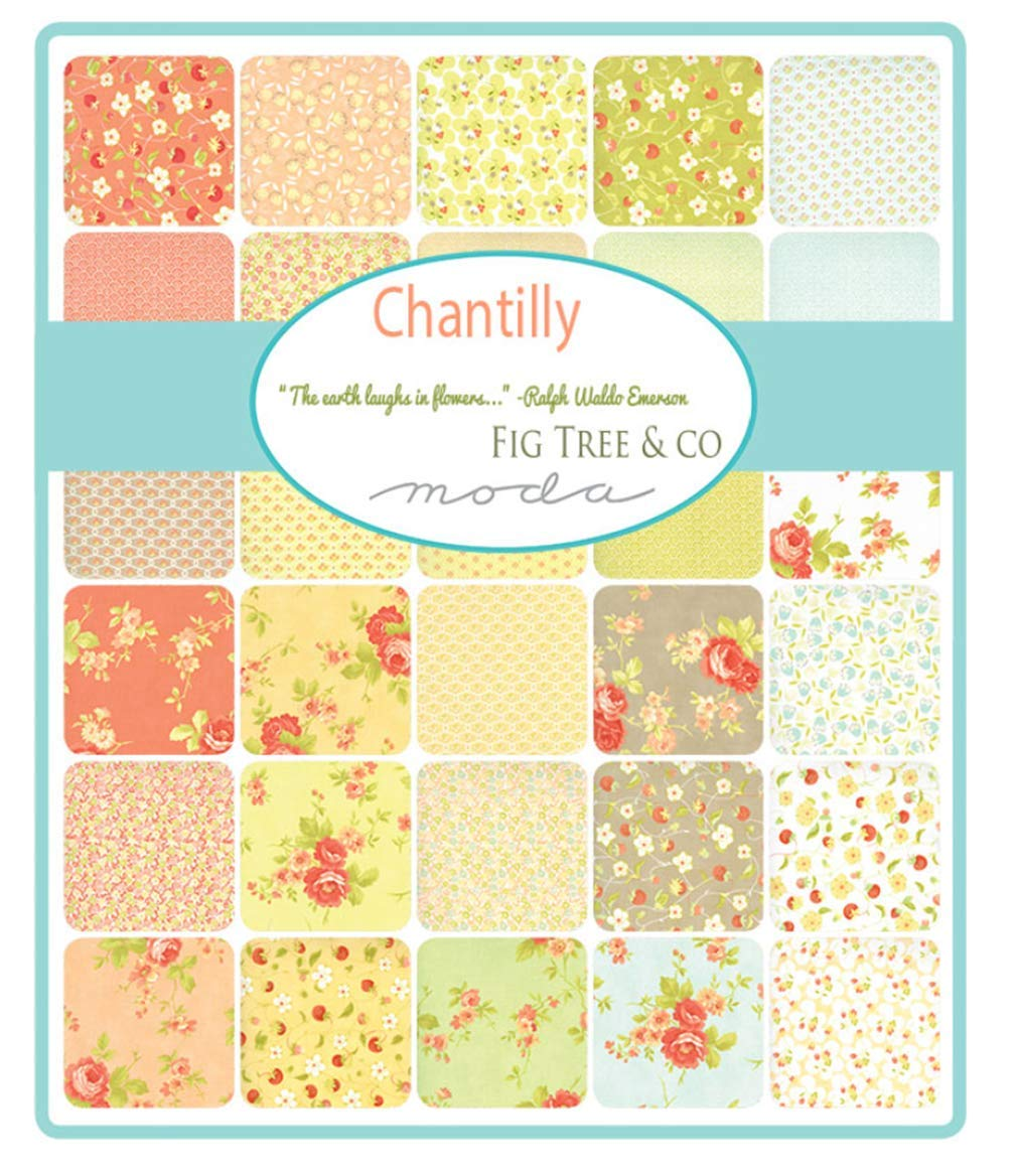 Chantilly 40 Fat Quarter Bundle by Fig Tree & Co. for Moda Fabrics by Moda Fabrics (Image #2)