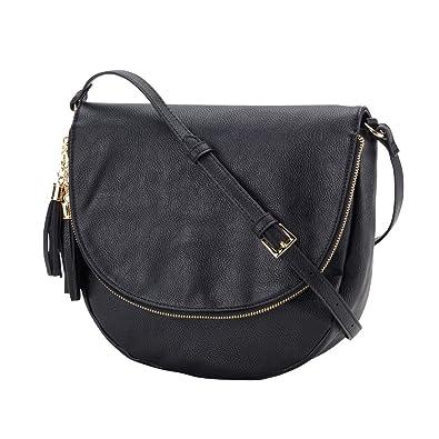8f9af04fe724 Sienna Tassel Crossbody Bag - Personalization Available! (Black - Blank)