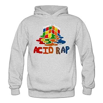 XJBD Chance The Rapper Acid Rap - Sudadera con Capucha para Mujer, Mujer, Gris, Medium: Amazon.es: Deportes y aire libre
